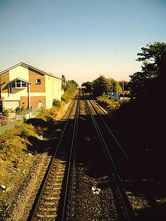 Boscombe railway station - Image: Boscombe Station 2007