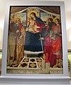 Bottega del ghirlandaio, madonna col bambino, santi e il donatore roberto folchi, 1490-1510 ca. 01.JPG