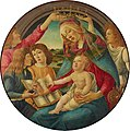 Botticelli (after) - Madonna of the Magnificat (Morgan Library & Museum).jpg