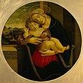 Botticelli - Мадонна с младенцем. Вторая, Ж-162.jpg