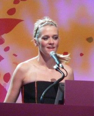 Edith Bowman - Presenting at the BT Digital Music Awards