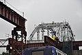 Bowstring Truss - Park Circus-Parama Flyover under Construction - Railway Overbridge 4 - Park Circus - Kolkata 2015-07-25 1538.JPG