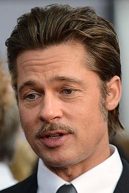 Brad Pitt in 2014 (cropped)