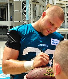 Bradie Ewing 2014 Jaguars training camp Cropped.jpg