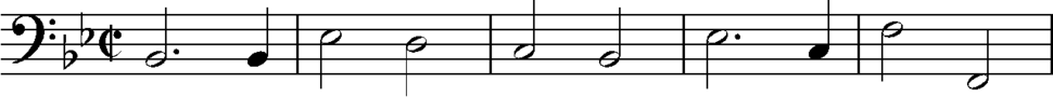 Brahms Variations on a Theme by Haydn, final section with ground bass