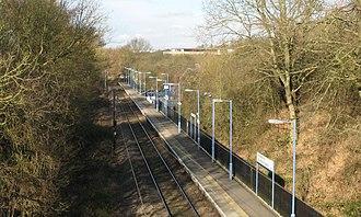 Braintree Freeport railway station - Braintree Freeport railway station in 2013