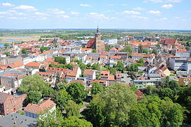 Brandenburg an der Havel Gesamtansicht