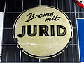 Brems mit JURID, enamel advertising sign.JPG