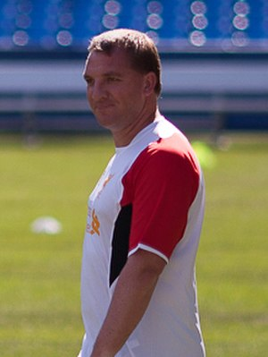 Brendan Rodgers - Rodgers with Liverpool in 2012