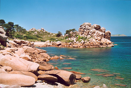 The Pink Granite Coast around Trégastel.