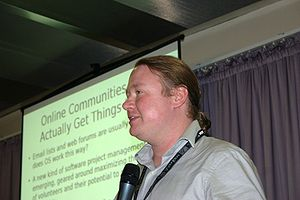 Brian Behlendorf - Brian Behlendorf in Moscow 2007