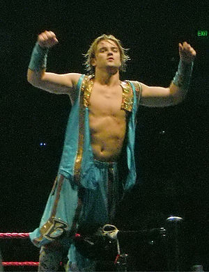 Brian Kendrick - Kendrick during his ring entrance
