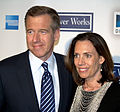 Brian Williams and his wife Jane Williams portrait 2009.jpg