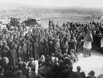 Briar Cliff University - Briar Cliff University dedication, 1930