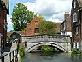 Bridge Over the River Itchen, Winchester - geograph.org.uk - 1314014.jpg