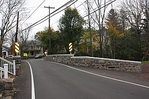 Bridge in Solebury Township - Image: Bridge in Solebury PA 03