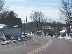 Looking at Briggsville on Highway 23