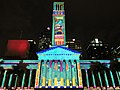 Brisbane City Hall light projection show 2017, 03.jpg