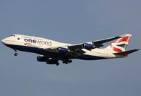 G-CIVZ - B744 - British Airways