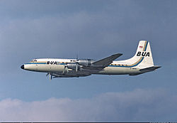 British United Bristol Britannia
