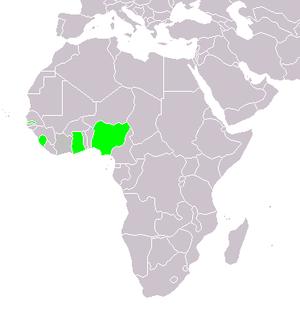 West Africa Command - Area under British West Africa Command.