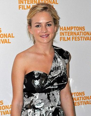Britt Robertson - Robertson at the October 2010 Hamptons International Film Festival