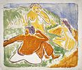 Brooklyn Museum - Three Bathers on the Beach - Ernst Ludwig Kirchner.jpg