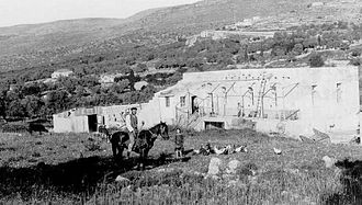 Motza - Motza farmstead, 1912