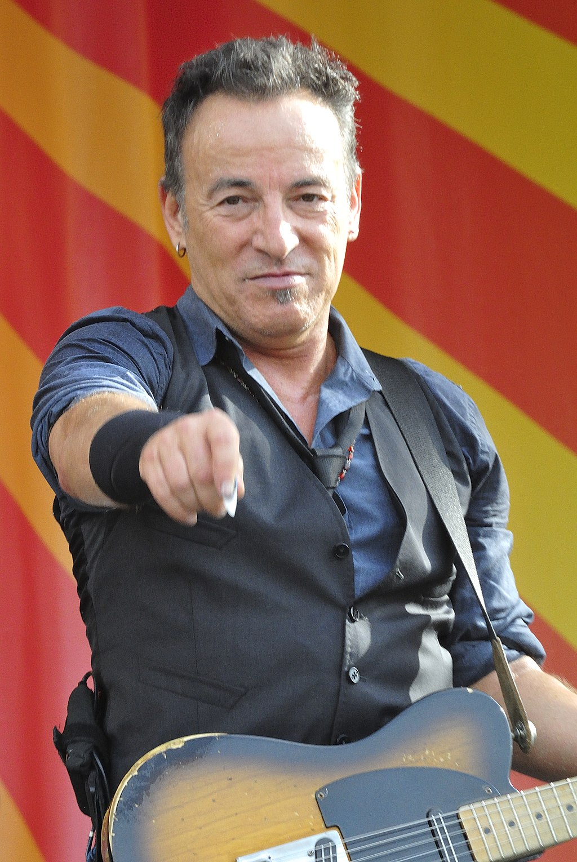 ブルース・スプリングスティーン(Bruce Springsteen)Wikipediaより