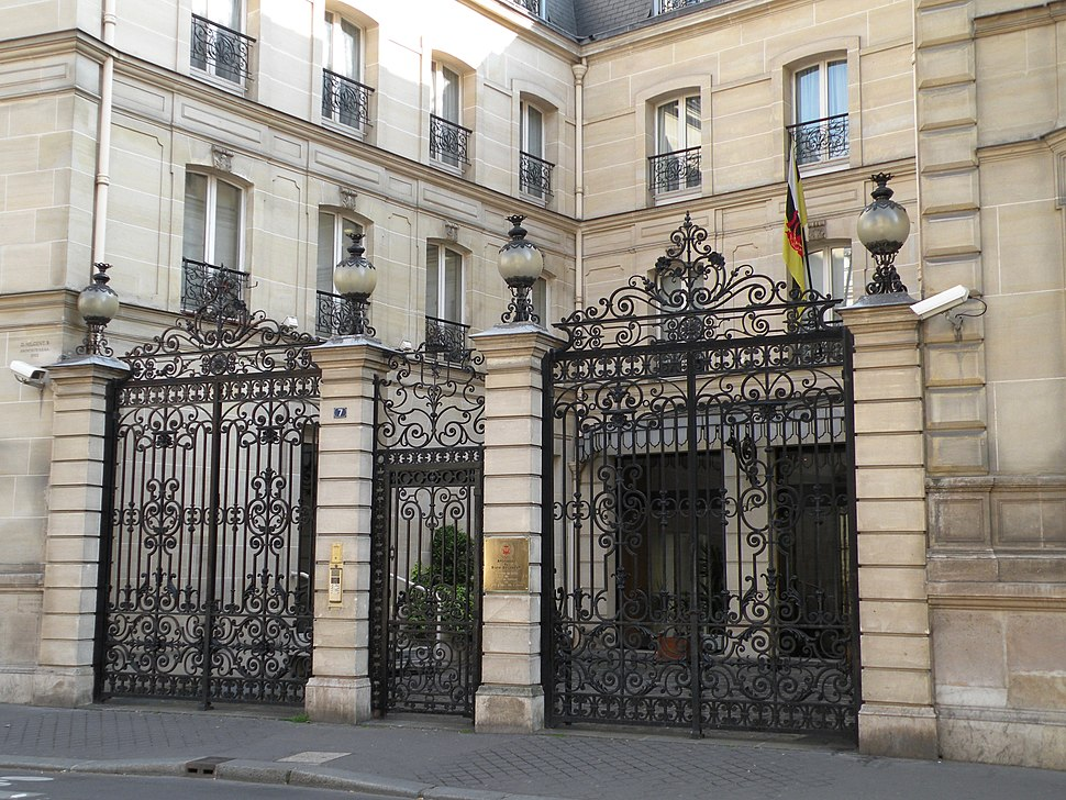 Bruneian embassy in Paris