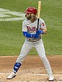 Bryce Harper Nationals vs. Phillies at Nationals Park, August 25, 2020 (All-Pro Reels Photography) (50271580782) (cropped).jpg