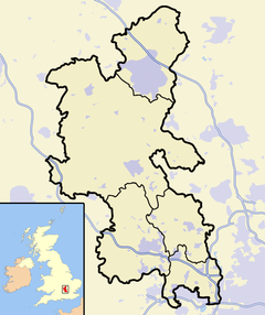 Amersham is located in Buckinghamshire