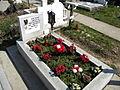 Bucuresti, Romania, Cimitirul Bellu Catolic, (Mormantul compozitorului Dan Iagnov, 19 Martie 2014).JPG