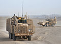 Buffalo Vehicle Part of Talisman Suite in Convoy in Afghanistan MOD 45153765.jpg