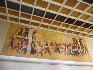 Massimo Campigli - Mural by Campigli  (Palais des Nations, Basel)