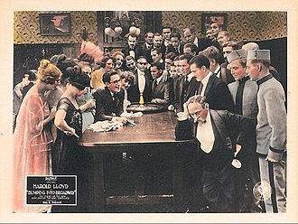 Bumping into Broadway - lobby card