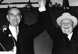 Ludwig Erhard - Johnson and Erhard, December 1963