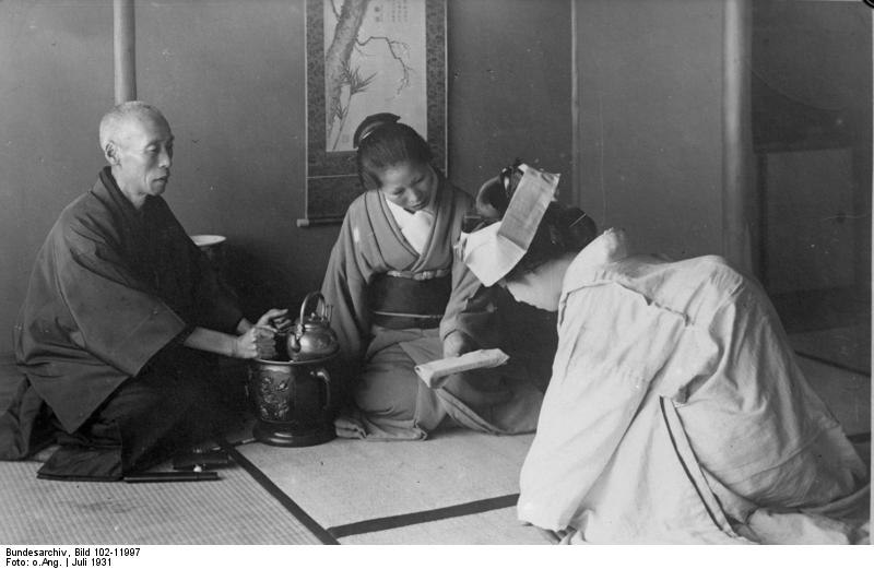 Bundesarchiv Bild 102-11997, Japan, Teezeremonie