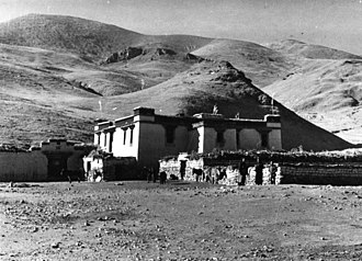 Shannan, Tibet - Nagarze settlement in Nagarze County, Shannan