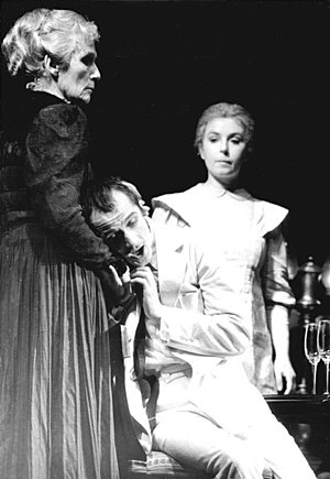 Problem play - A performance of Ibsen's Ghosts, one of the defining Problem plays,  in Berlin, 1983.
