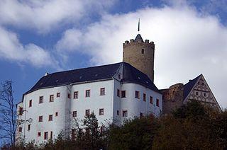 Scharfenstein Castle (Ore Mountains) rock castle
