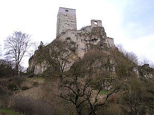Wellheim Castle - Image: Burg Wellheim 2