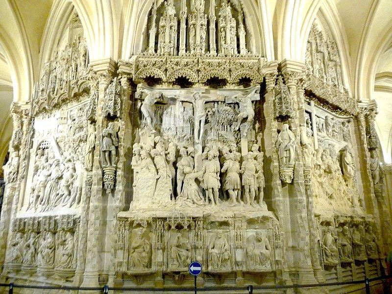 Relieves del trasaltar de la catedral de Burgos