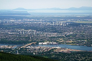 Burnaby City in British Columbia, Canada