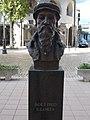 Bust of John Calvin by László Kutas, Kecskemét 2016 Hungary.jpg