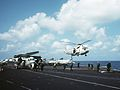 C-1A and SH-3G on USS Midway (CV-41) in 1984.JPEG