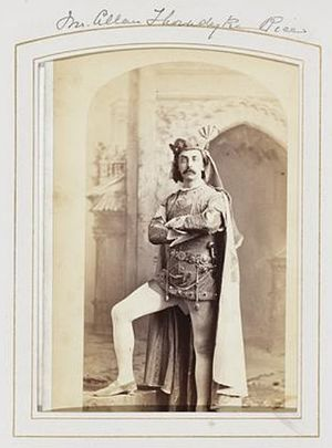 C. Allen Thorndike Rice - Allen Thorndike Rice at a costume ball hosted by William K. Vanderbilt at his home on 5th Avenue in New York City on 26 March 1883
