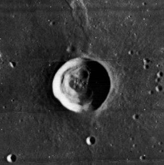 C. Herschel (crater) - Lunar Orbiter 4 image