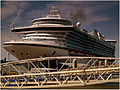 CARIBBEAN PRINCESS AT LIVERPOOL PIER HEAD AUG 2012 (7754112114).jpg