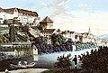 CF Baumann - Neckarfront von Südwesten, Gouche ca.1830 Inv.10378 (SW196B).jpg